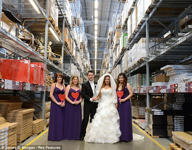 Australian Couple Get Married In IKEA Saying The Homeware