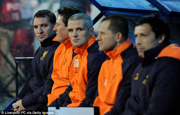 On the brink: Liverpool will need an improved performance in the second leg next week