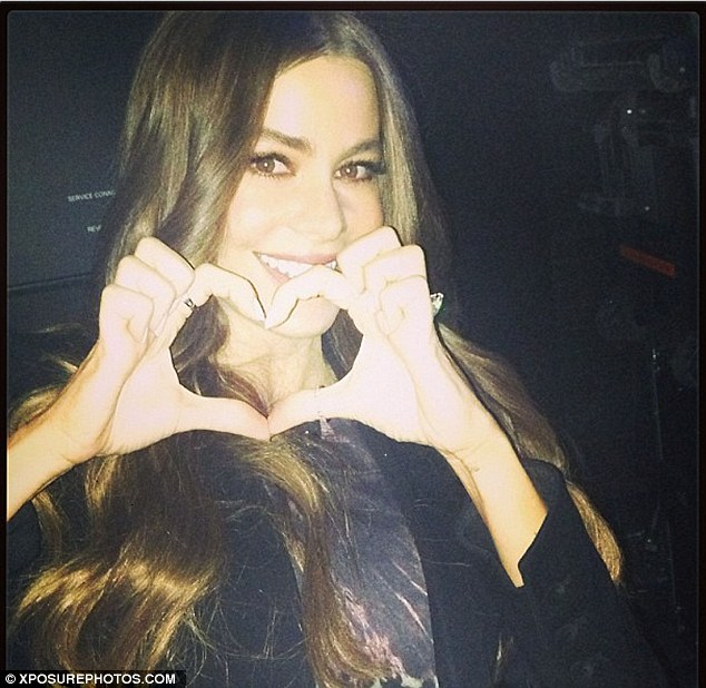 V Day surprise: Sofia Tweeted her own lovers greeting today