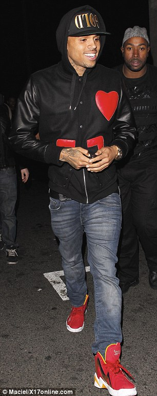 Is it on or off? Chris Brown and Rihanna arrived separately at the Playhouse Nightclub on Wednesday in Los Angeles. The on-again off-again couple ignored each other all night, a source exclusively told MailOnline