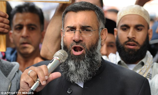 Anjem Choudary also outlined strange sharia instructions, such as not using certain types of maggot to fish with