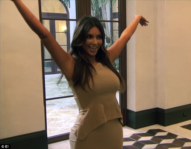 A gift from me to you: Kim surprised her sister by giving her a dream Miami home