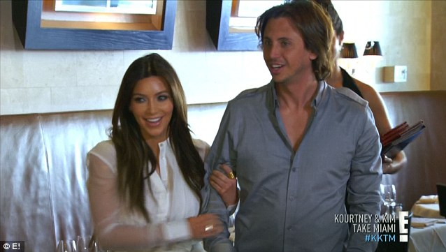 Surprise surprise: Kim engineered a reconciliation lunch between Scott and Kourtney