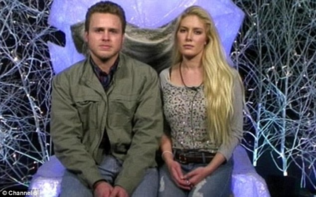 Controversial: Heidi and Spencer proved unpopular with some viewers during their time in the Celebrity Big Brother house and have now posed with guns in their home for a TV show prompting further debate