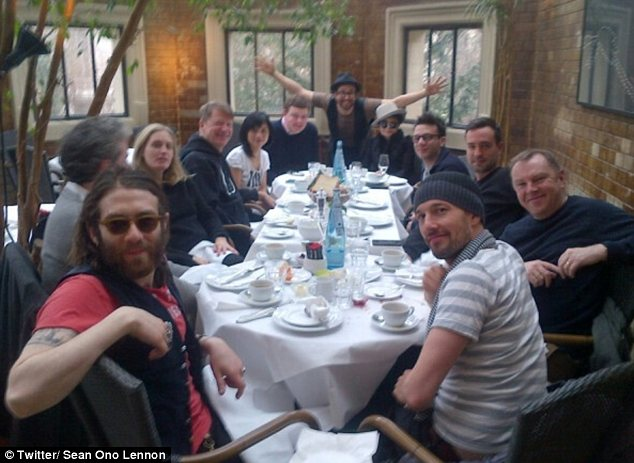 Happy birthday! Yoko Ono turns 80 in Berlin with her son Sean Ono Lennon