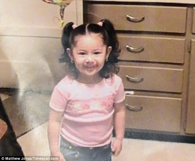 Loss: Lluvia could have died suddenly from the flu, police suggested, but their investigation continues