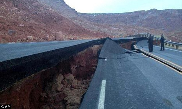 ADOT says what caused a 150-foot section of pavement to buckle is not related to the weather