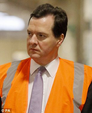 Bitter blow: But George Osborne insists that the Government cannot reverse its austerity programme
