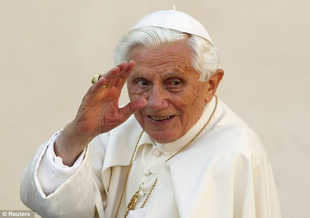 Forced out? Rumours are swirling that Pope Benedict XVI was compelled to retire by a damning official report