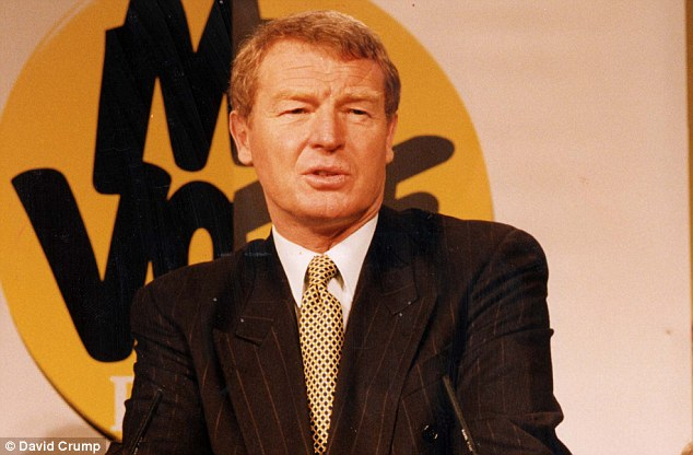 Previously: It was also revealed that a former councillor, John Thompson, sent a letter to then party leader Paddy Ashdown (pictured in March 1992) expressing concern about Hancock's behaviour in the 1990s