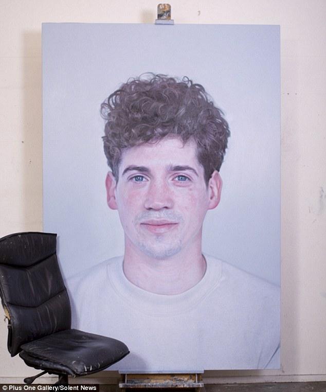 Obsesión: El pintor dijo que siempre ha estado expuesto al arte, incluso cuando era un niño