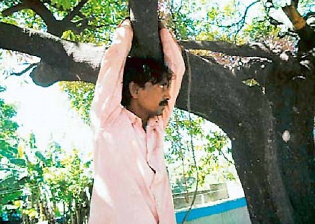 Jitender Choudhary Was Tied To A Tree And Left There For Three Hours As A Punishment