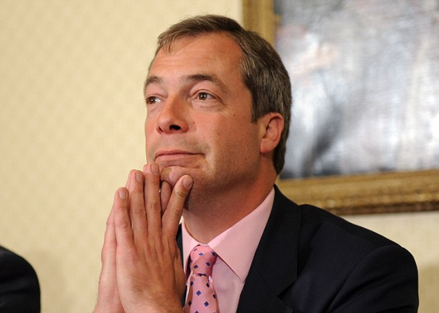 Not such a Midas touch: MEP Nigel Farage, whose previous career was in the City as a trader of commodities such as tin and cocoa, has run into trouble with a company called Farage Ltd