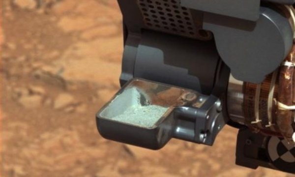 Nasa's Curiosity rover finds conditions WERE once right ...