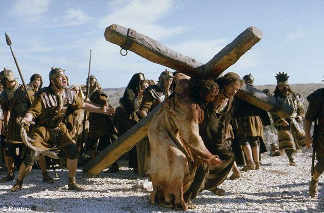 Una scena dal film 'La Passione di Cristo': Il nuovo manoscritto offre un resoconto molto diverso dei giorni e degli eventi che portano alla morte di Gesù da quello convenzionale data dalla Bibbia