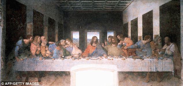 Leonardo da Vinci's 'The Last Supper': A newly deciphered manuscript claims Jesus could change shape at will and in fact had his last supper with Pontius Pilate, the Roman prefect who sentenced him to death