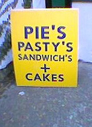 Image result for the dreaded floating apostrophe