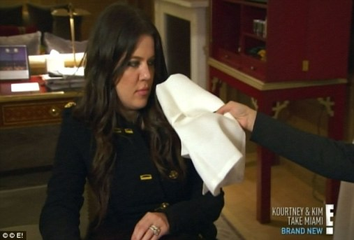 Reluctant: The contest was the last thing Khloe expected when she jetted into London