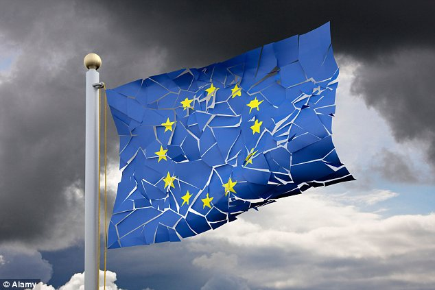 A gathering storm: Banker Sebastien Galy said the move could be the 'trigger' for a new eurozone crisis