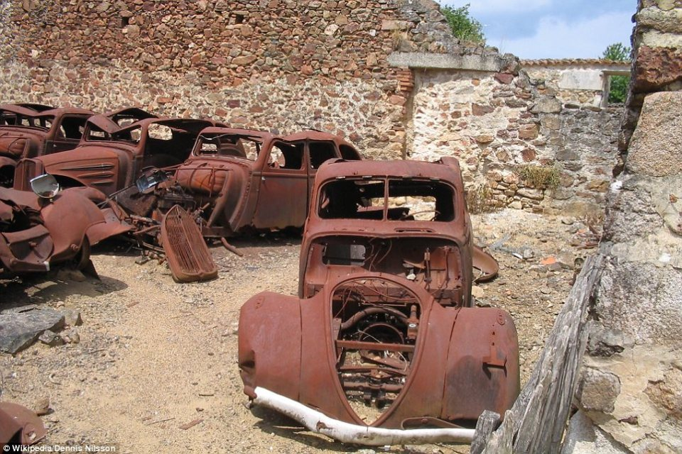 Oradour-sur-Glane, France: The city is only a shadow of what it once was