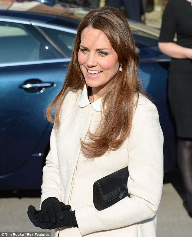 Wrapping her hands against the chill, Kate asked the small crowd that had gathered to see them arrive whether they had cold hands