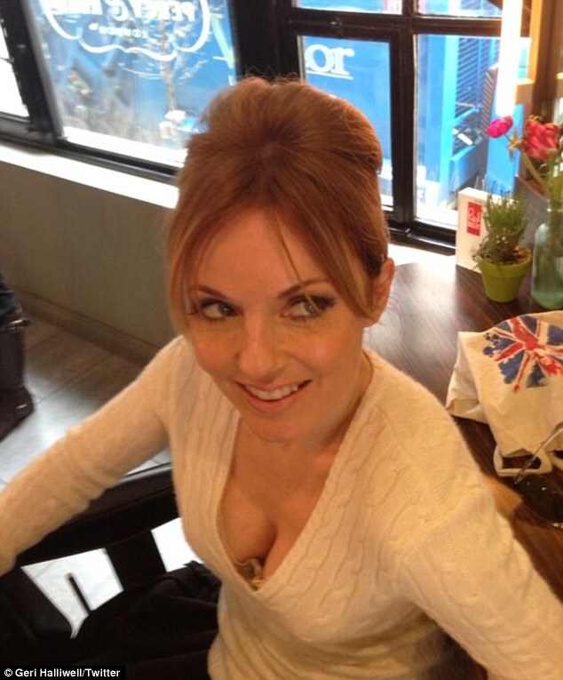 Geri Halliwell Posts Picture Of New Beehive Hair Do And