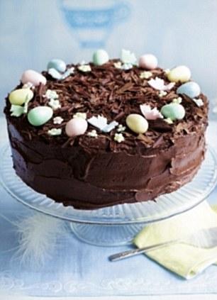Cracking Easter Treats Alternative Chocolate Fudge Simnel