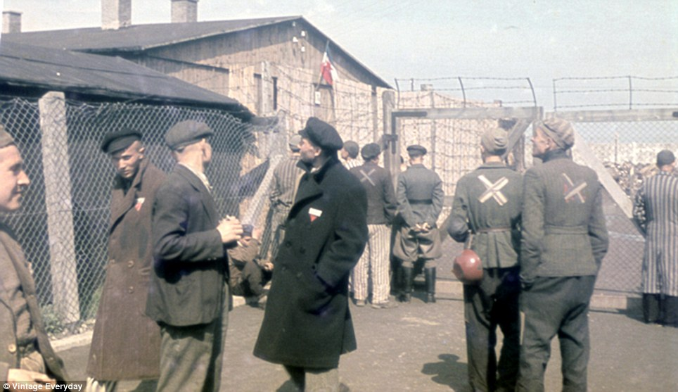 German authorities established camps all over Germany to handle the masses of people arrested as alleged subversives