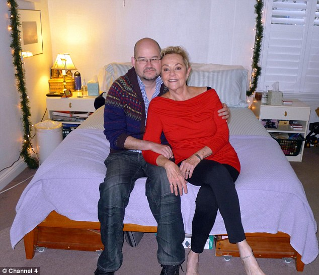 Intimate: The Channel 4 documentary follows shy Clive (left), 45, as he undergoes radical sex therapy with Cheryl Cohen-Greene (right), 68