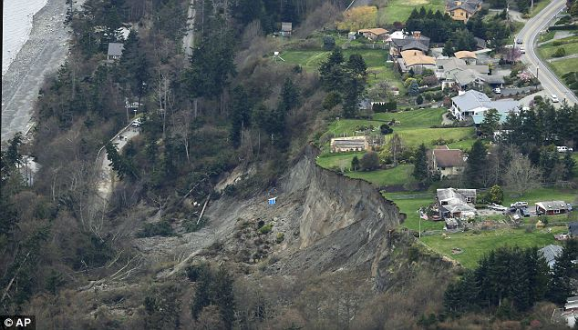 Analysis: Authorities are still investigating the landslide but believe it was caused by stored moisture in the mud