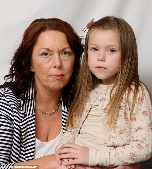 Missing out: Robyn, with mother Dawn, can't do things like swimming because of her sleeping disorder