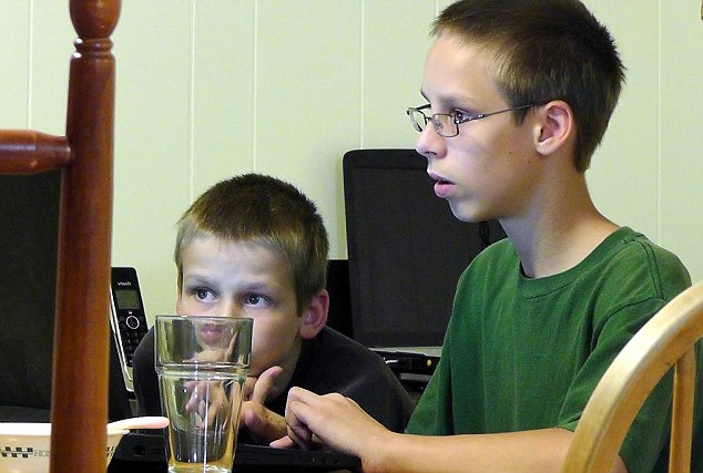 The Romeikes teach their five school-age children at home, including computer lessons along with reading, writing, math, history, music and other subjects