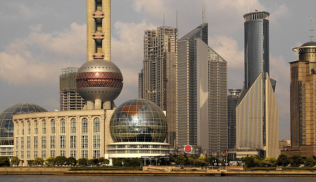 Worry: The two victims were infected in the city of Shanghai, one of the biggest in China