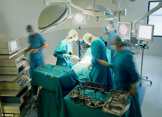Warning: More than 10,000 people in the UK were fitted with the metal-on-metal hip implants (stock picture)