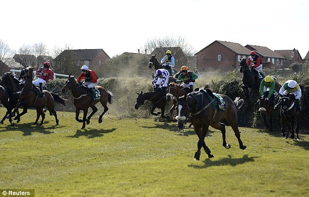 Notorious: Bechers' Brook (above) has claimed many casualties in the past  Read more: http://www.dailymail.co.uk/sport/racing/article-2304605/Little-Josh-dies-Grand-National-meeting-day-one.html#ixzz2PbWKrpRW  Follow us: @MailOnline on Twitter | DailyMail on Facebook