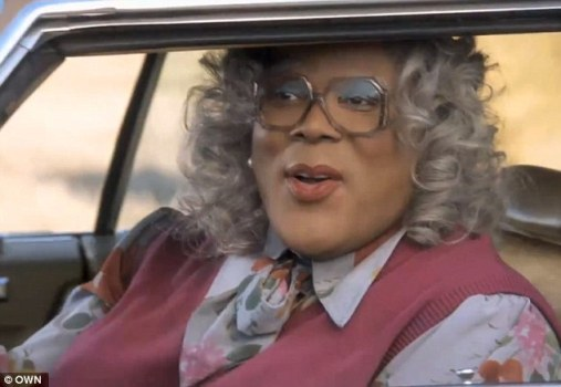 Entertainer Tyler Perry embodies Madea once again in the OWN promo