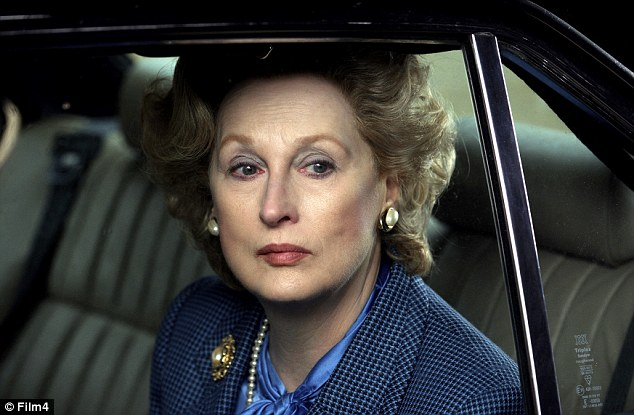 Formidable: Meryl Streep portrayed Lady Thatcher in The Iron Lady - winning her third Oscar