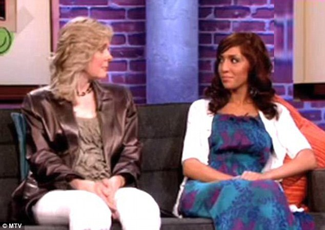 Difficult relationship: Farrah with her mother Debra Danielson on MTV