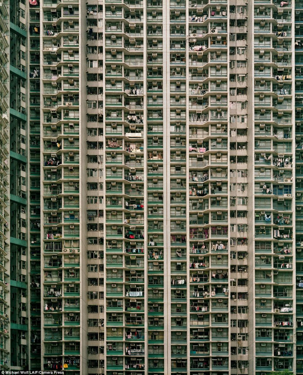 Pile them high: Hong Kong is one of the world's richest cities, but lurking beneath the prosperity is a housing problem affecting hundreds of thousands of its underprivileged residents