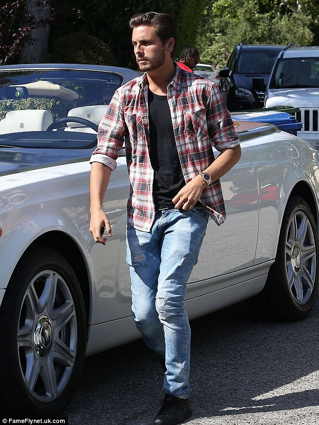 Scott Disick Adopts A More Casual Style As He Sports