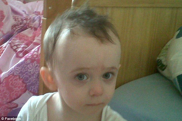 Innocent: Addy McLelland was just two. He was found dead at the flat with his brother and sister