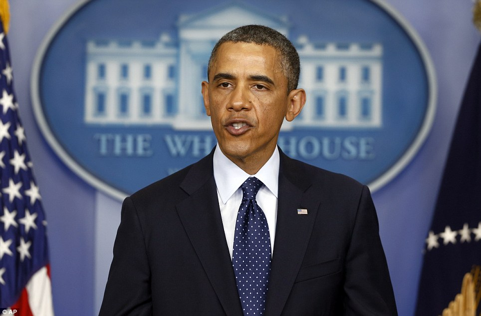 Speech: President Barack Obama spoke on Monday evening, saying that the American people stand by those in Boston affected by today's bombing