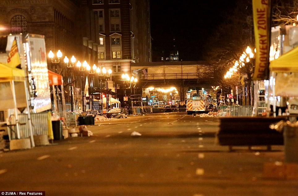 Boston remains on high alert into the night after multiple explosions hit the Boston Marathon finish line area on Patriots Day. At least 140 people were injured and 3 confirmed dead in the explosions.