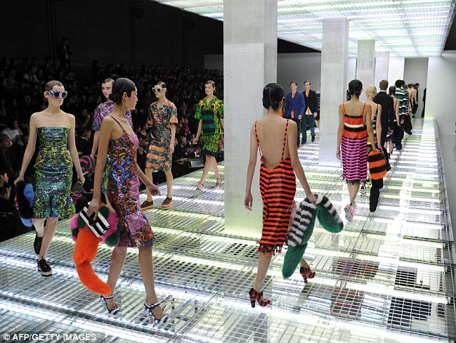 Pieces by luxury fashion brand Prada can cost upwards of £3,000 each
