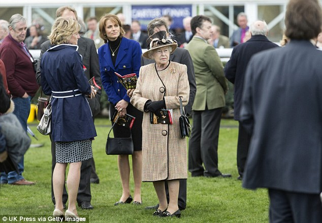 The Queen at Newbury