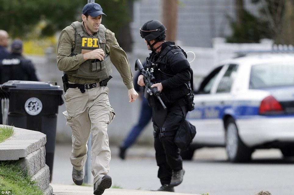 Boston Locked Down As Swat Teams Hunt Teenage Terrorist From