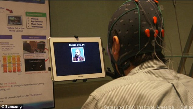 Helpful: The research shows how a brain-computer interface could help someone with mobility issues complete tasks that otherwise could not be done