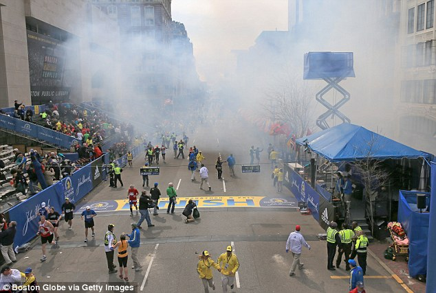 Terror Attack: The two detonations went off near the finish line of the 117th Boston Marathon on April 15, 2013 - returning the specter of terrorism to the United States for the first time since 9/11