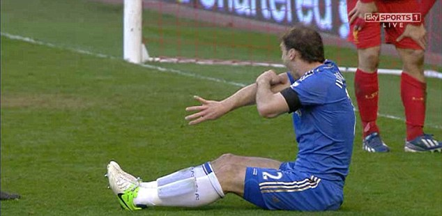 Pain: Ivanovic cannot believe what's happened