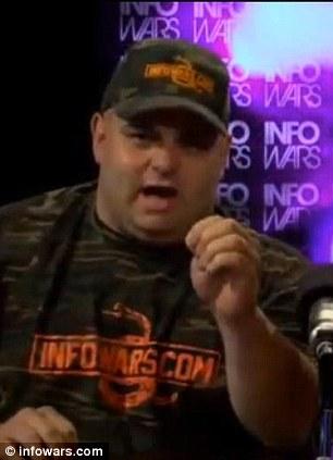 Alex Jones, the conspiracy-theory radio host